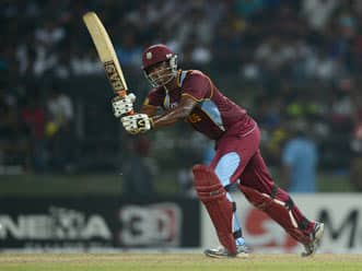 ICC World T20 2012: Charles, Gayle fifties power West Indies to 179