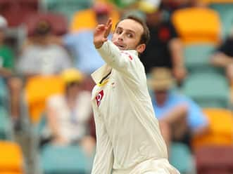 Nathan Lyon enjoying the role as Australia's frontline spinner