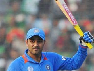 I was not thinking about getting 200: Sehwag