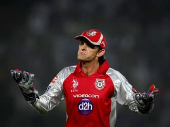 IPL 5: Adam Gilchrist addresses the press after Rajasthan Royals – Kings XI Punjab