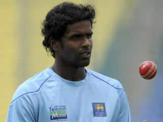 Shaminda Eranga to replace injured Angelo Mathews in Sri Lanka squad