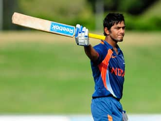 Sachin Tendulkar's tips on tackling pressure fruitful, says Unmukt Chand