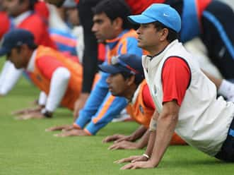 Warm-up helps players avoid injuries
