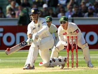 Rahul Dravid's approach at the MCG