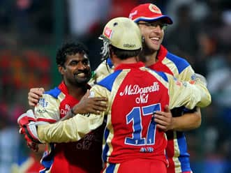 IPL 2012: Muralitharan is the most valuable player, says AB de Villiers