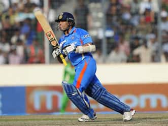 Sachin Tendulkar smashing four sixes Abdul Qadir