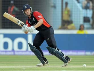 Trott, Morgan save England's blushes