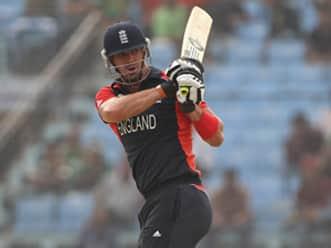 Pietersen, Collingwood help England post 273 in final warm-up tie