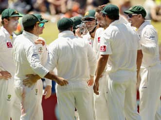 Nathan Lyon speaks after the end of day four of fourth Test match at Adelaide