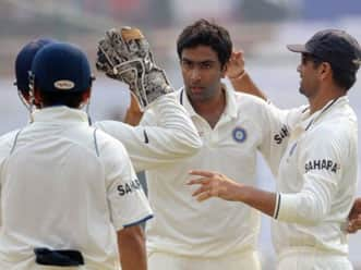 Ashwin becomes 7th Indian bowler to bag five-for on Test debut
