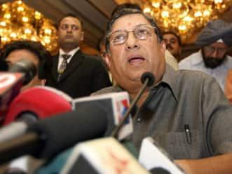 No formal invitation was sent to Indian team for ICC Awards: N Srinivasan