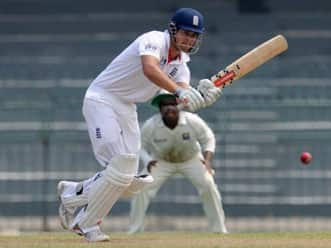 Alastair Cook slams ton against Sri Lanka Board XI on second day of tour game