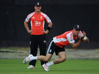 England to test two-ball regulation during practice match