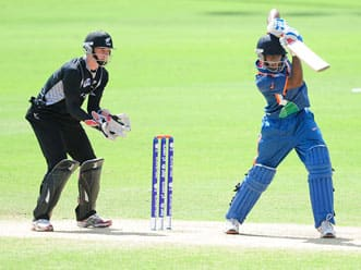 Under 19 Cricket World Cup 2012: India beat New Zealand by 9 runs to reach final