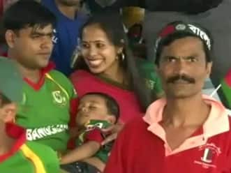 The five types of spectator that we see in a cricket match