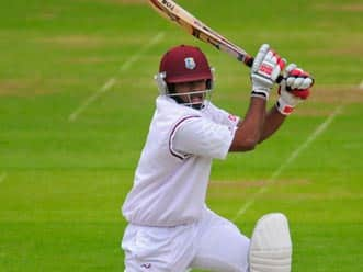 West Indies batsmen put up formidable show at lunch on day three