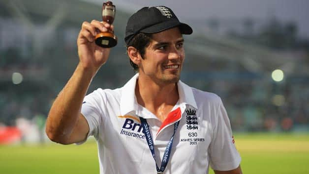 Alastair Cook thanks fans for support after England's Ashes win