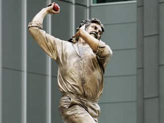 Warne's bronze statue to be unveiled at MCG