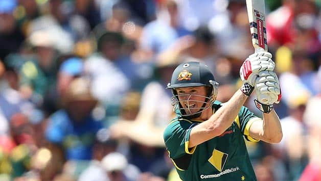 Australia vs West Indies 2013: George Bailey inspired by Shaun Marsh's innings