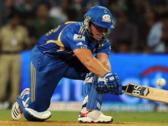 IPL 2012 highlights: Mumbai Indians vs Rajasthan Royals, part 1