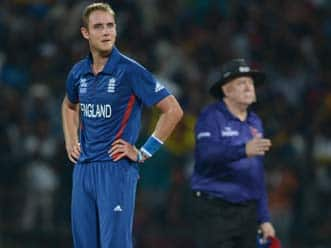 ICC World T20 2012: Disappointed Stuart Broad says England was not good enough