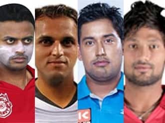 The suspended five: Srivastava, Sudhindra, Mishra, Yadav & Bali in a fix