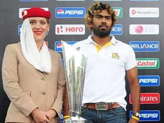 ICC World T20 trophies reach Sri Lanka