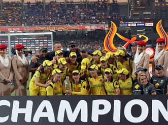 ICC Women's World T20: Australia lift trophy after thrilling win over England