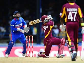 WI vs Ind: T20 statistical review