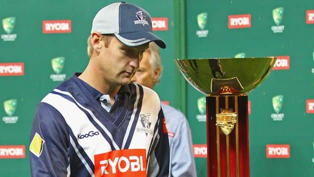 RYOBI One-Day Cup 2013 Final: Cameron White disappointed with Victoria's loss