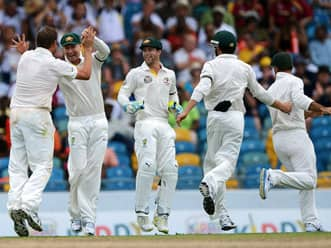 Australia in command as West Indies falter in first innnings at Roseau