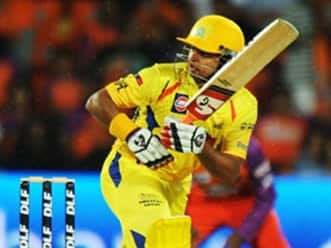 I wanted to stay and finish the game: Raina