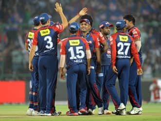 Delhi bowlers restrict Punjab to 136