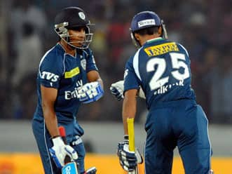 Rajasthan Royals play-offs hopes dashed after defeat to Deccan Chargers