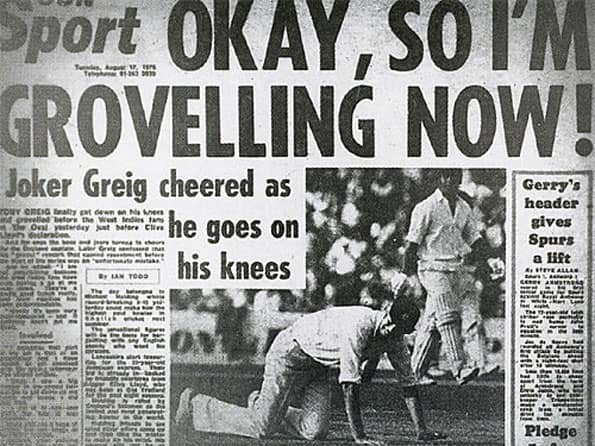 Cricketing Rifts 14: When West Indies made Greig's life miserable for using word 'grovel'