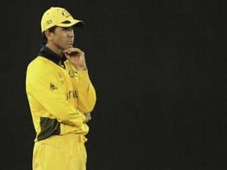 Ponting faces axe after World Cup exit