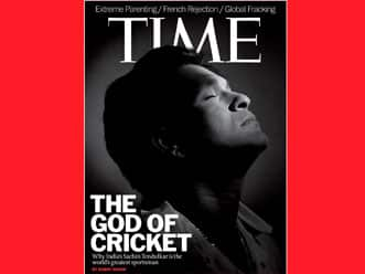 "Sachin Tendulkar is ""the world's best athlete"", says Time Magazine"
