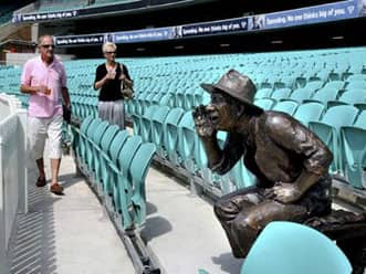 Sydney Cricket Ground is the Victor Trumper Stand