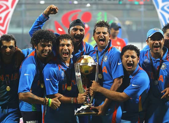 Winning moments from India's 1983 and 2011 World Cup triumphs