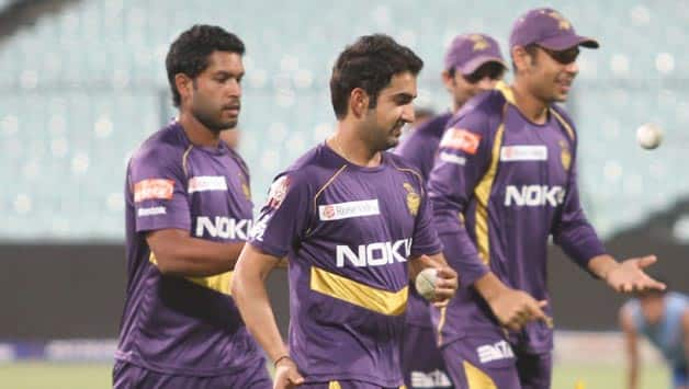 IPL 2013: Kolkata Knight Riders ad-shoot bloopers