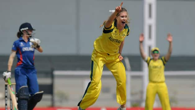 Holly Ferling's interview after Australia's win against England in ICC Women's World Cup 2013