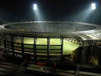 Wankhede Stadium gears up for first World Cup tie