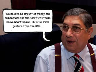 Humour: BCCI to give players 'hardship allowance' for representing India