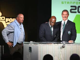 Allen Stanford had 20/20 cricket; Michael Holding had 20/20 vision