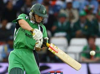 Porterfield thanks ICC for opportunity to play against England