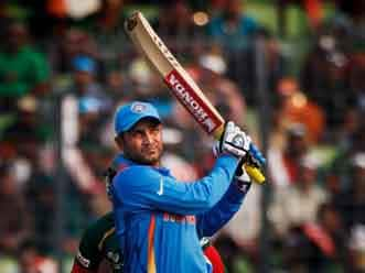 "Sehwag gets his ""revenge""  against Bangladesh"