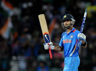 ICC World T20 2012: MS Dhoni impressed by Virat Kohli's consistency