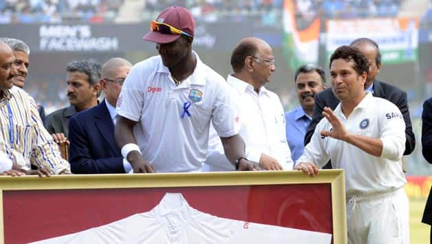 Sachin Tendulkar deserves every bit of adulation: Darren Sammy