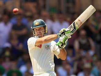 Ricky Ponting enroute to his double century at Adelaide