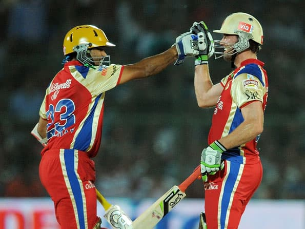 Dilshan, de Villiers could make the difference for RCB against KKR